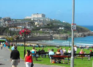 picture of newquay cornwall