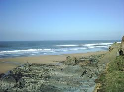 best bude beaches sandymouth image