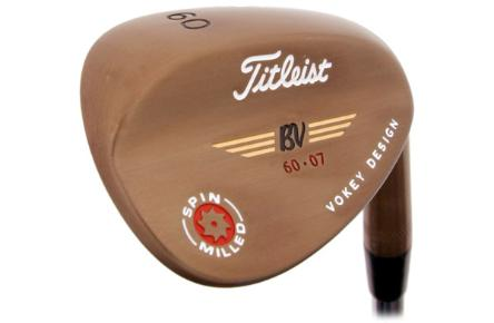 titleist vokey design spin milled wedge close up 2009
